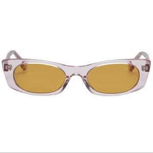Le Specs Luxe Deep Shade Crystal Pink Sunglasses